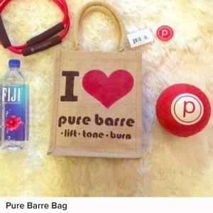 Pure barre bag